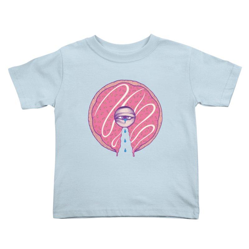 Donut Cry Kids Toddler T-Shirt by Ranggasme's Artist Shop