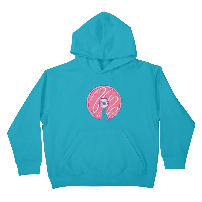 Donut Cry Kids Pullover Hoody by Ranggasme's Artist Shop