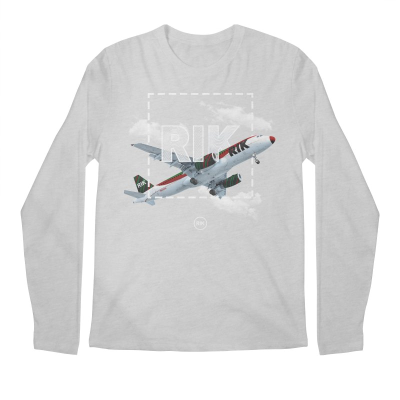 RIK Block (Jet Set) Men's Longsleeve T-Shirt by RIK.Supply