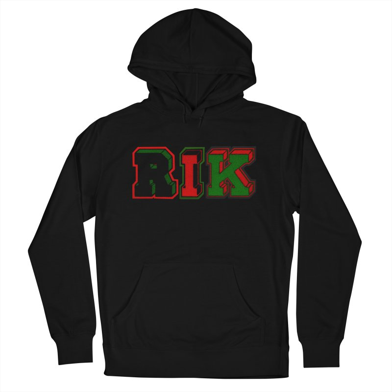 RIK Letterman Men's French Terry Pullover Hoody by RIK.Supply