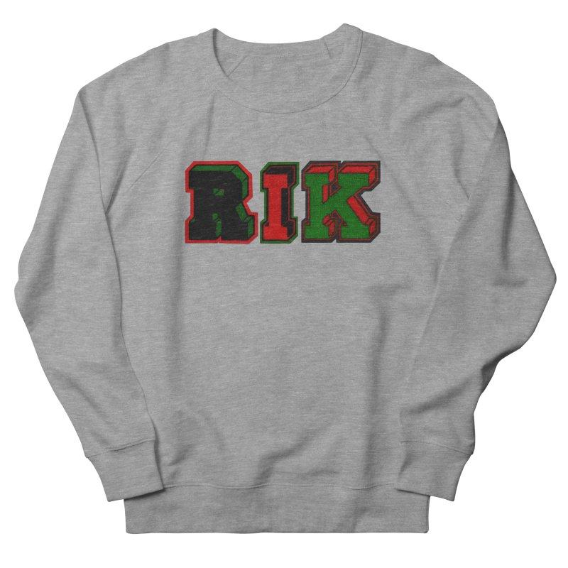 RIK Letterman Women's French Terry Sweatshirt by RIK.Supply