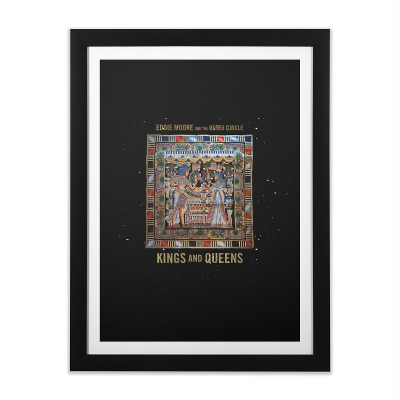 Kings and Queens Home Framed Fine Art Print by RIK.Supply