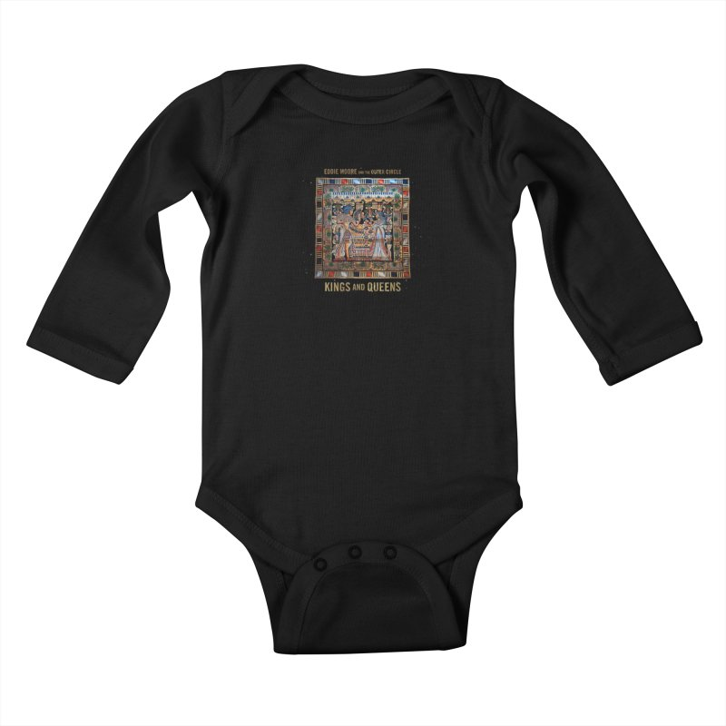 Kings and Queens Kids Baby Longsleeve Bodysuit by RIK.Supply