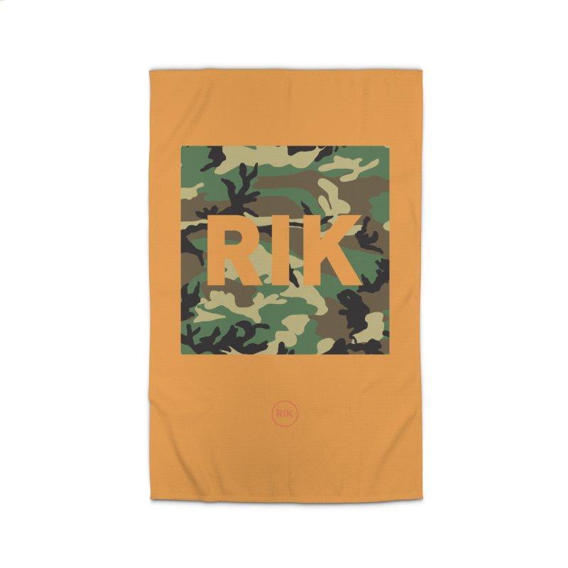 RIK Block (Woodland) Home Rug by RIK.Supply