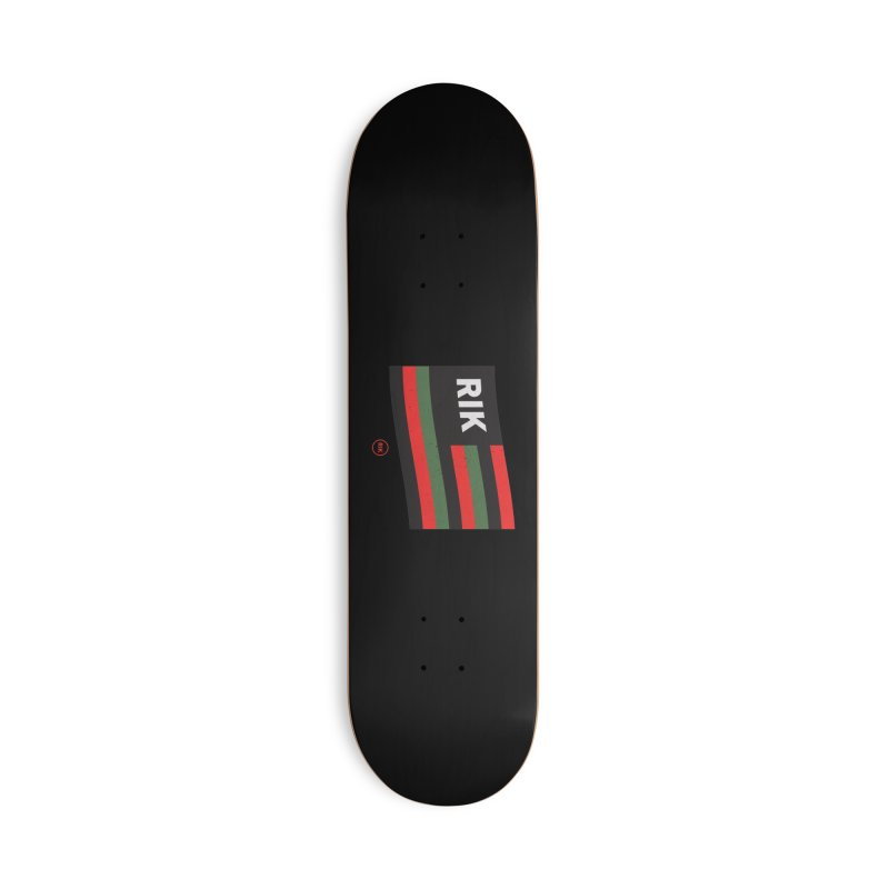 For The Culture Accessories Skateboard by RIK.Supply
