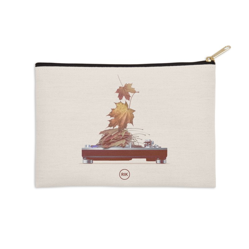 Soundtrack of Autumn Accessories Zip Pouch by RIK.Supply