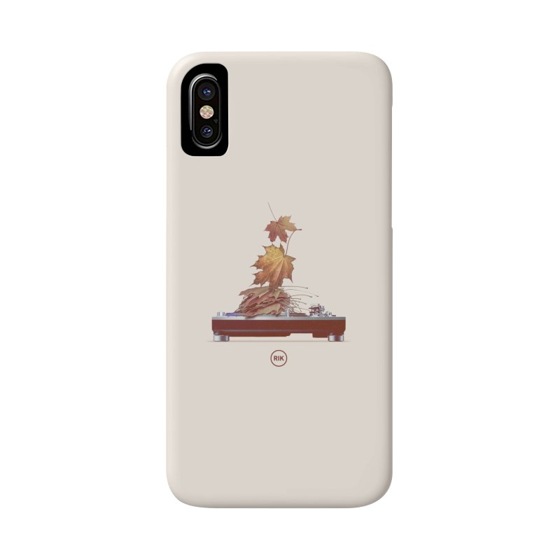 Soundtrack of Autumn Accessories Phone Case by RIK.Supply