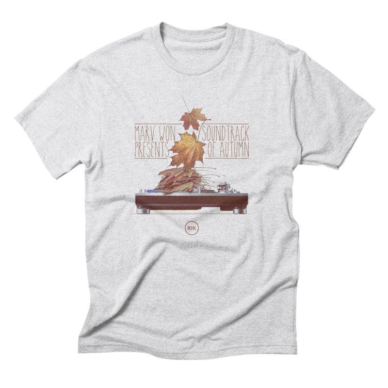 Soundtrack of Autumn Men's T-Shirt by RIK.Supply