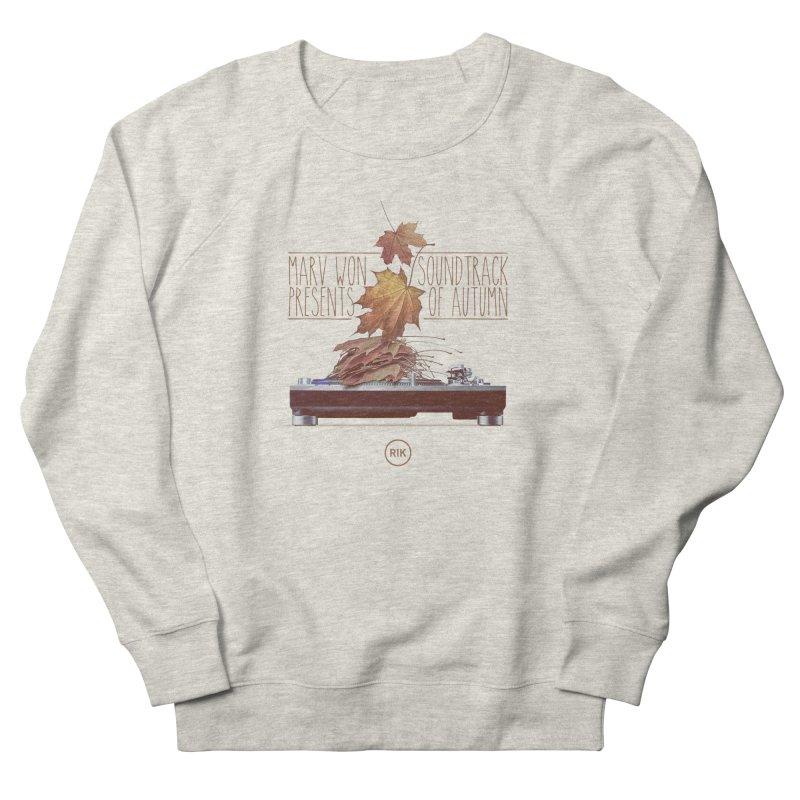 Soundtrack of Autumn Women's Sweatshirt by RIK.Supply