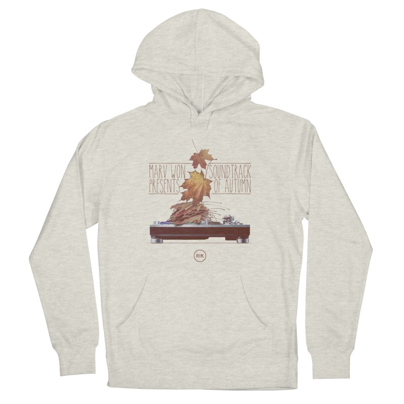 Soundtrack of Autumn in Men's Pullover Hoody Heather Oatmeal by RIK.Supply