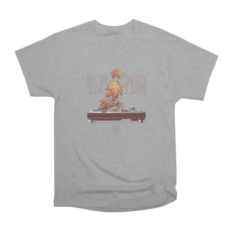 Soundtrack of Autumn Men's Classic T-Shirt by RIK.Supply