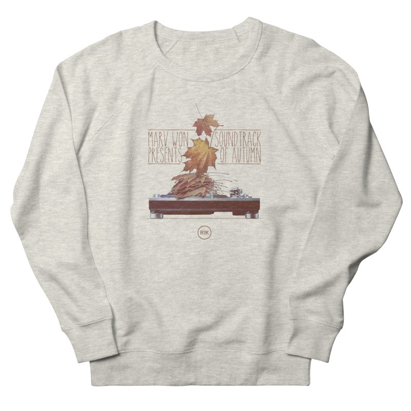 Soundtrack of Autumn Women's French Terry Sweatshirt by RIK.Supply