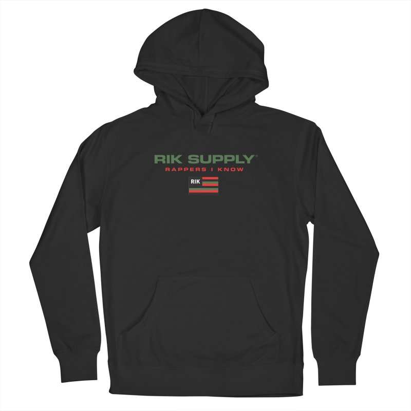 RIK SUPPLY SPORTY (RGB) Men's French Terry Pullover Hoody by RIK.Supply