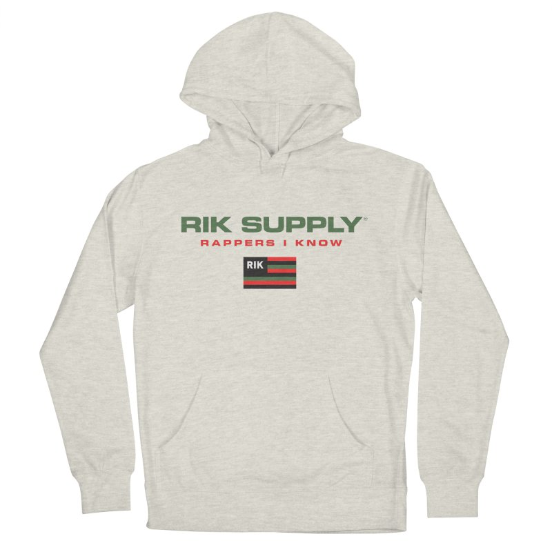 RIK SUPPLY SPORTY (RGB) Women's French Terry Pullover Hoody by RIK.Supply