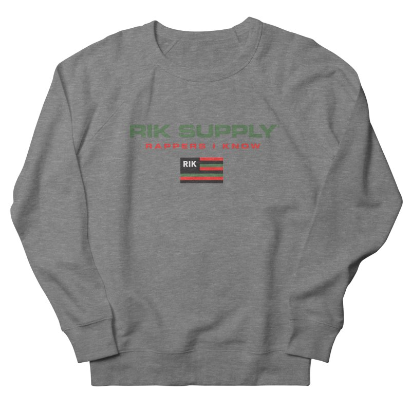 RIK SUPPLY SPORTY (RGB) Men's French Terry Sweatshirt by RIK.Supply