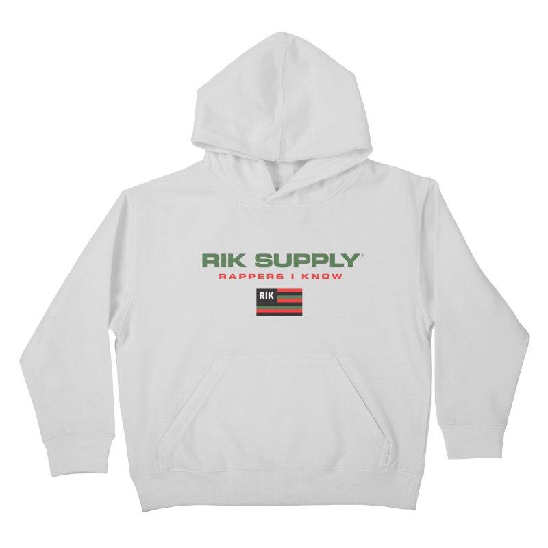 RIK SUPPLY SPORTY (RGB) Kids Pullover Hoody by RIK.Supply