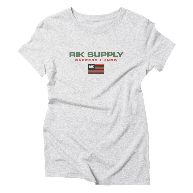 RIK SUPPLY SPORTY (RGB) Women's Triblend T-Shirt by RIK.Supply