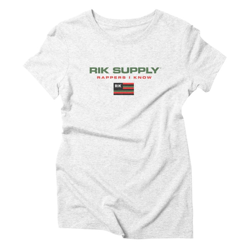 RIK SUPPLY SPORTY (RGB) Women's Triblend T-shirt by RIK.Supply