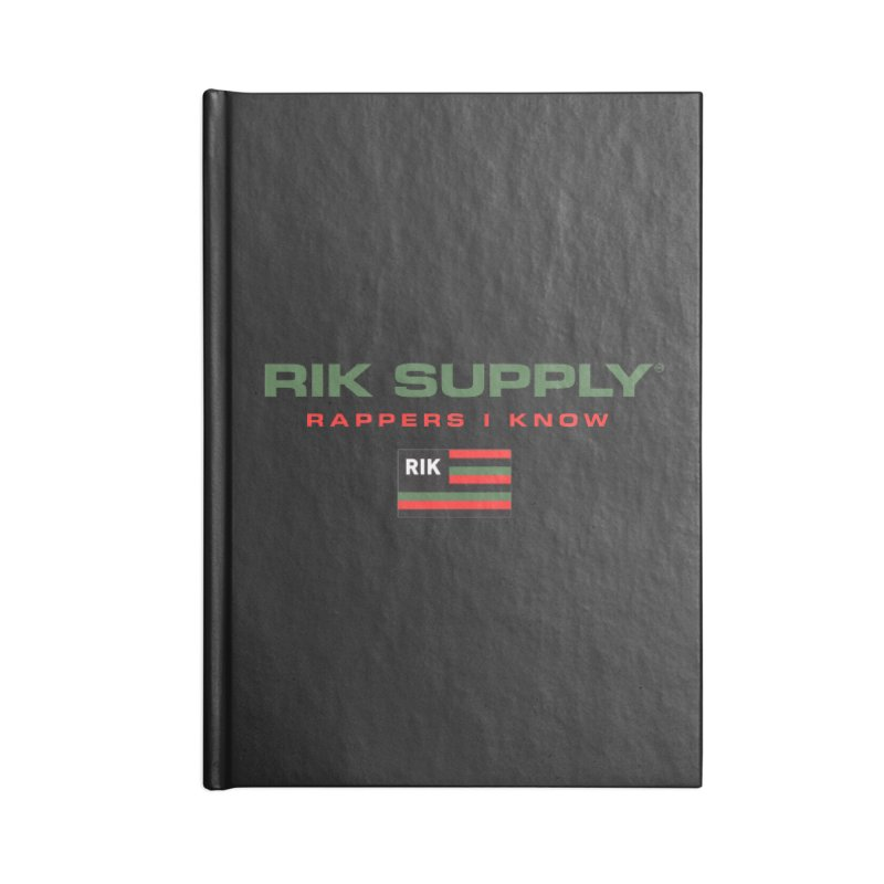 RIK SUPPLY SPORTY (RGB) Accessories Notebook by RIK.Supply