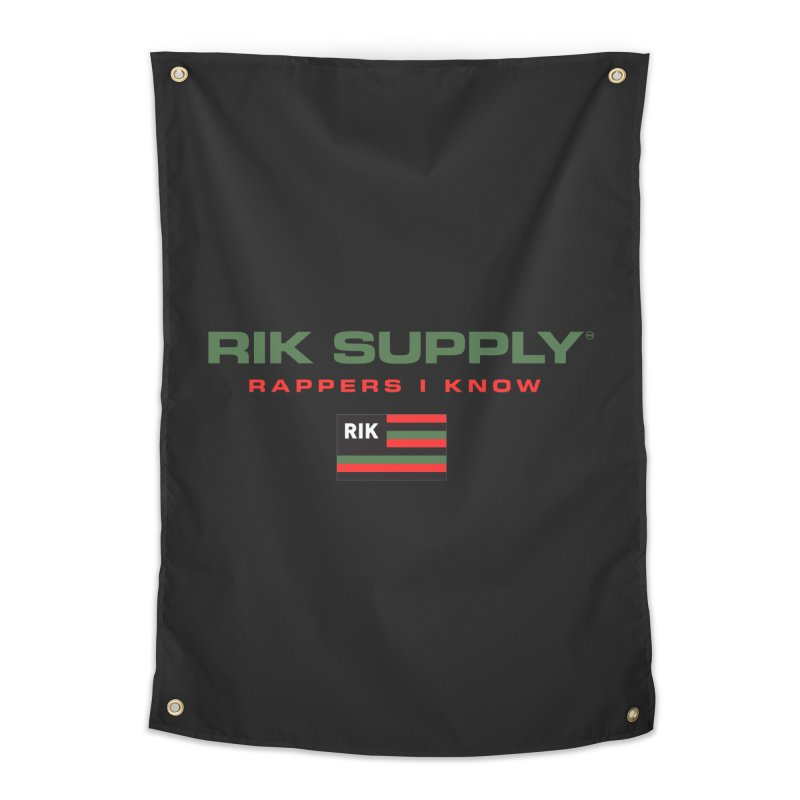 RIK SUPPLY SPORTY (RGB) Home Tapestry by RIK.Supply
