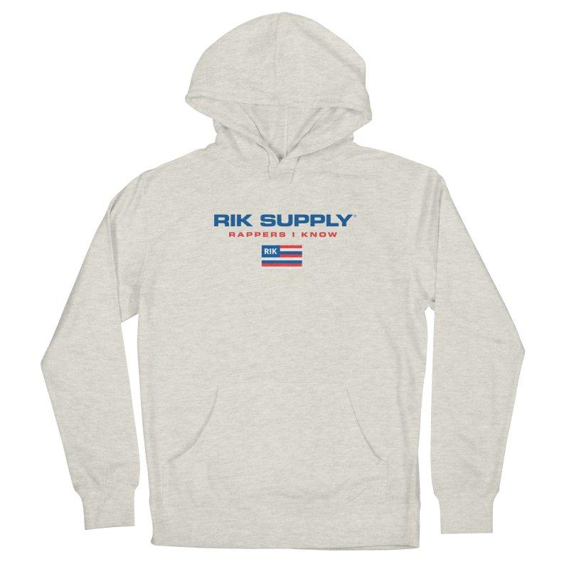 RIK SUPPLY SPORTY (RWB) Men's French Terry Pullover Hoody by RIK.Supply