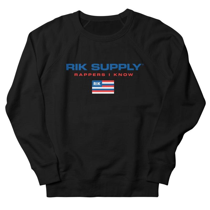 RIK SUPPLY SPORTY (RWB) Men's French Terry Sweatshirt by RIK.Supply