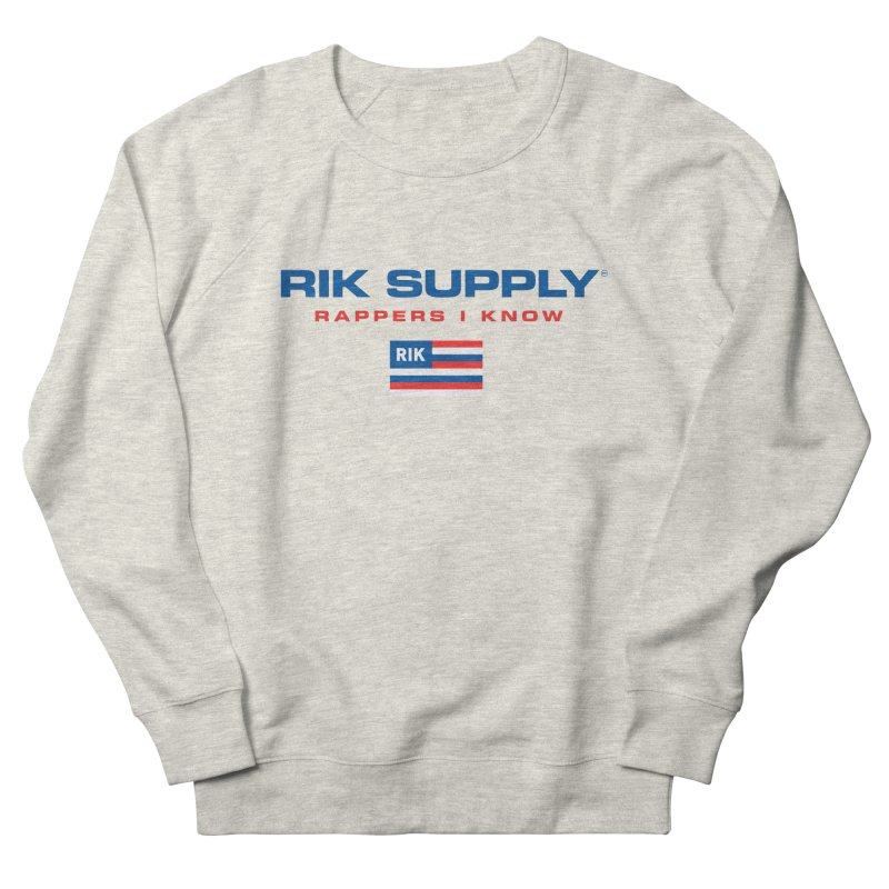 RIK SUPPLY SPORTY (RWB) Men's French Terry Sweatshirt by RIK.Supply
