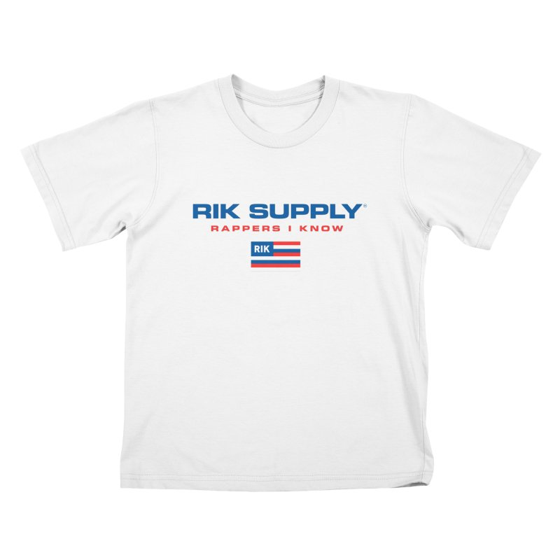 RIK SUPPLY SPORTY (RWB) Kids T-Shirt by RIK.Supply