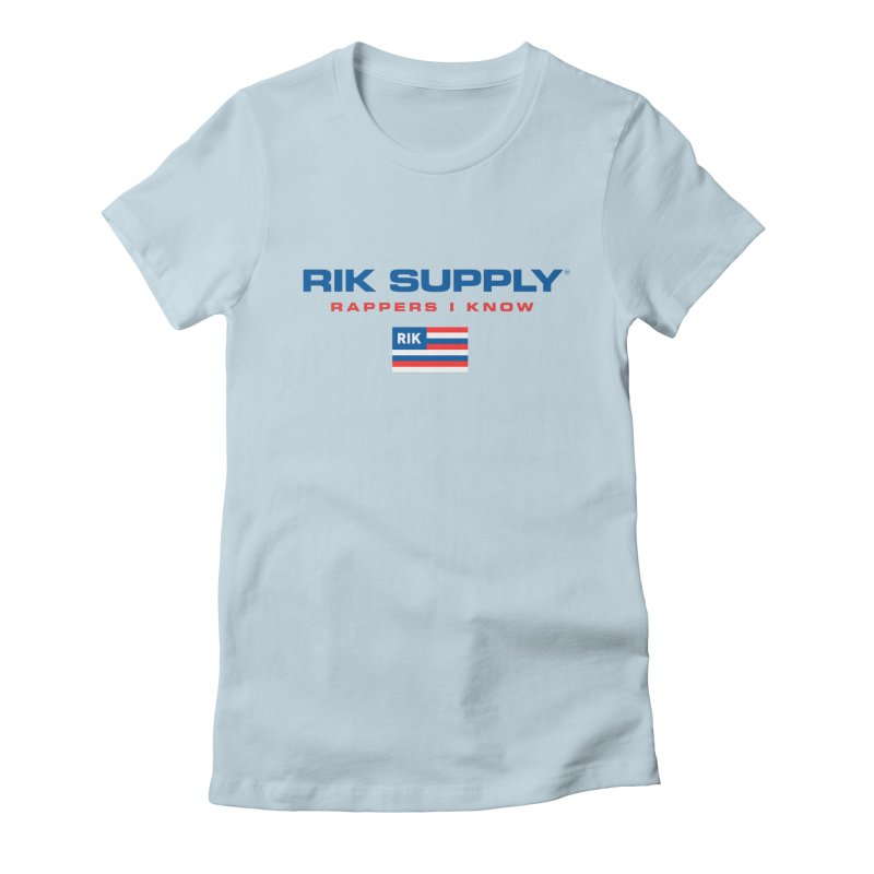 RIK SUPPLY SPORTY (RWB) Women's Fitted T-Shirt by RIK.Supply