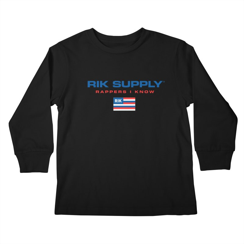 RIK SUPPLY SPORTY (RWB) Kids Longsleeve T-Shirt by RIK.Supply