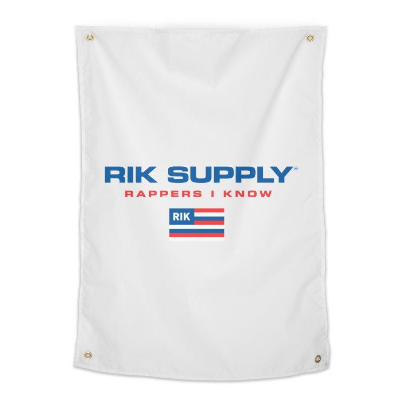 RIK SUPPLY SPORTY (RWB) Home Tapestry by RIK.Supply