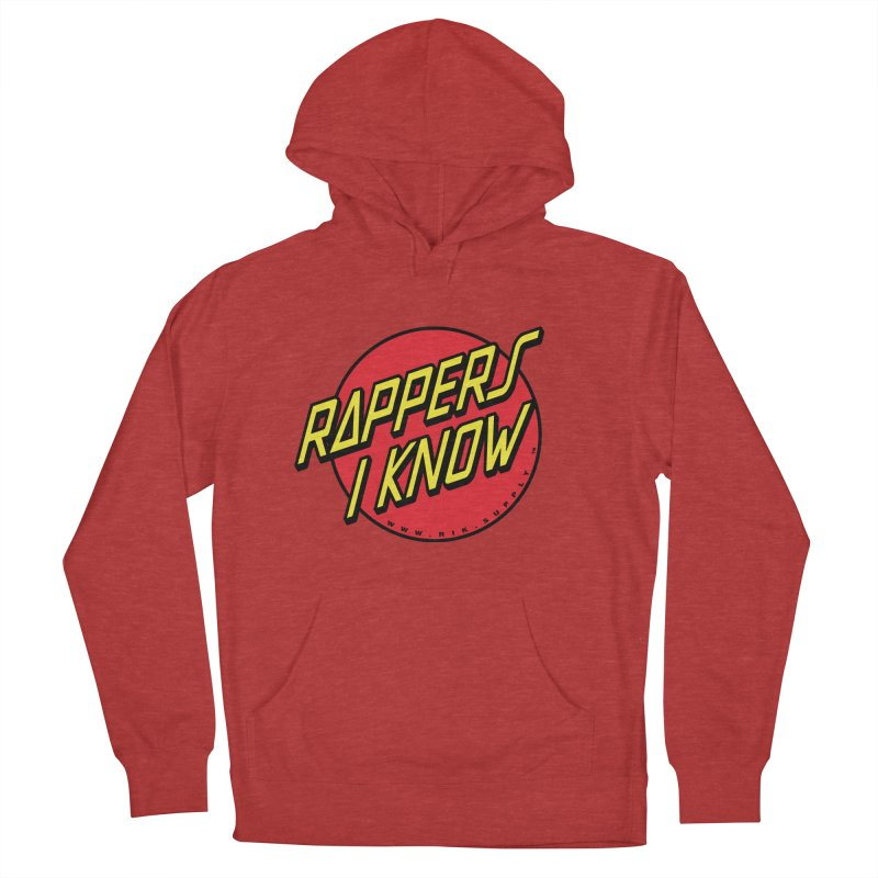 RIK Wavy Men's Pullover Hoody by RIK.Supply