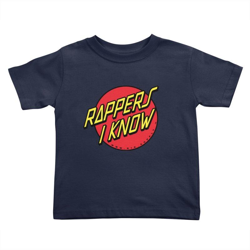 RIK Wavy Kids Toddler T-Shirt by RIK.Supply
