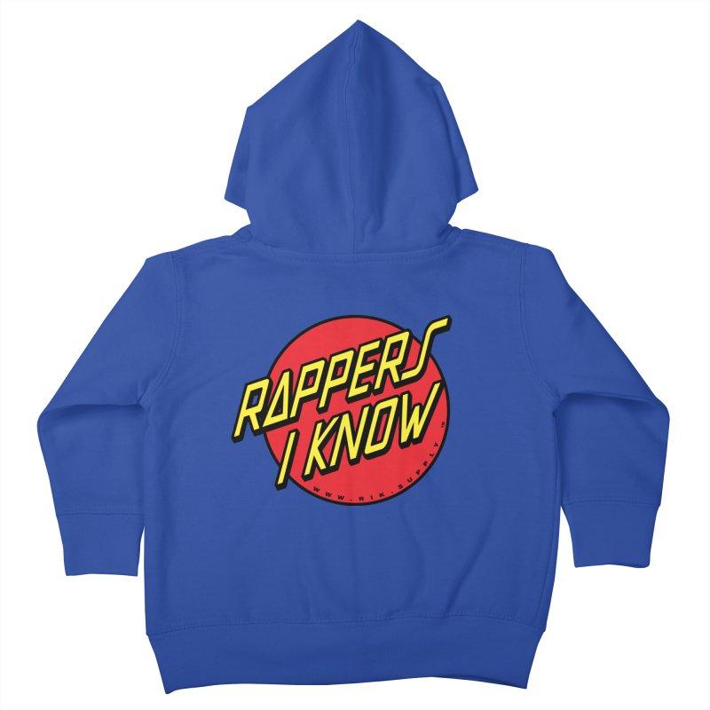 RIK Wavy Kids Toddler Zip-Up Hoody by RIK.Supply