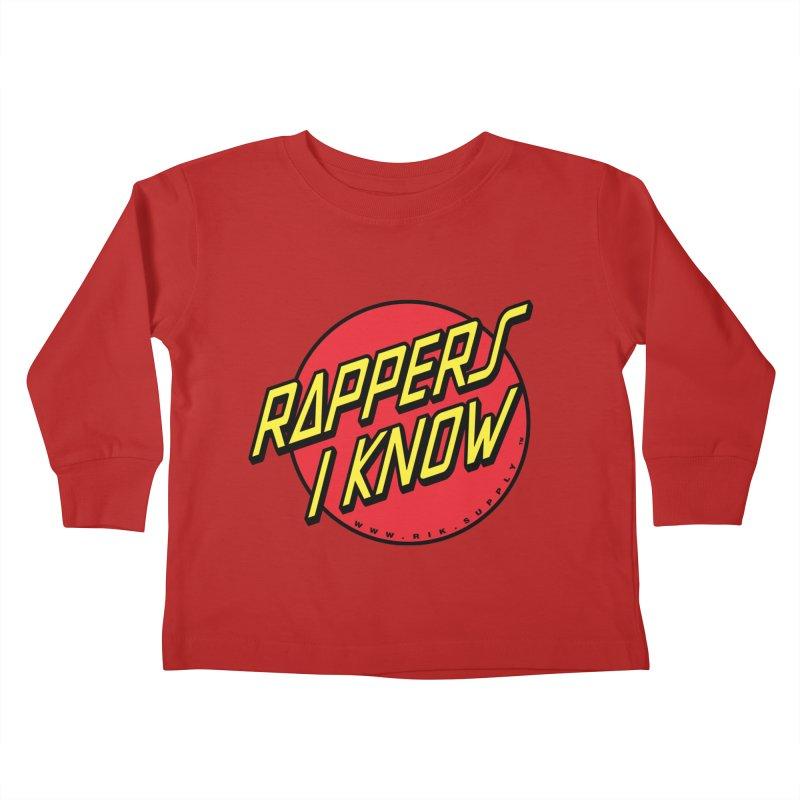 RIK Wavy Kids Toddler Longsleeve T-Shirt by RIK.Supply