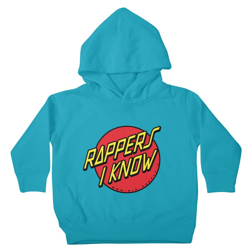 RIK Wavy Kids Toddler Pullover Hoody by RIK.Supply