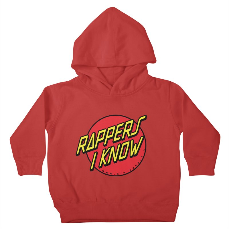RIK Wavy Kids Toddler Pullover Hoody by RIK.Supply