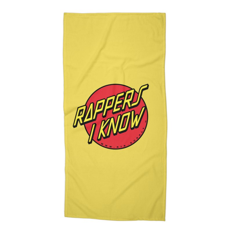 RIK Wavy Accessories Beach Towel by RIK.Supply