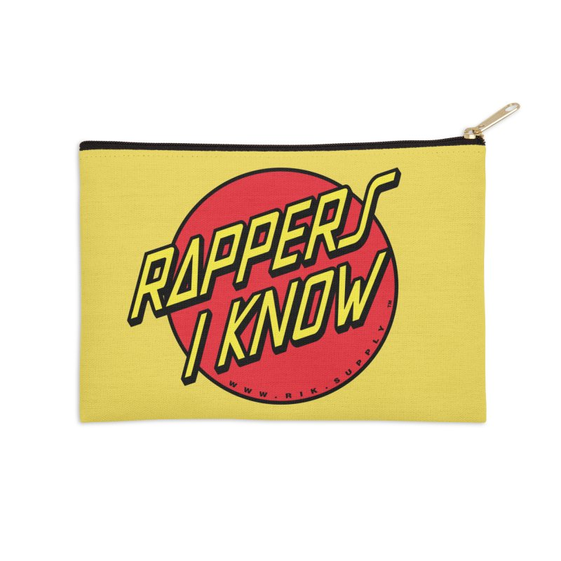 RIK Wavy Accessories Zip Pouch by RIK.Supply