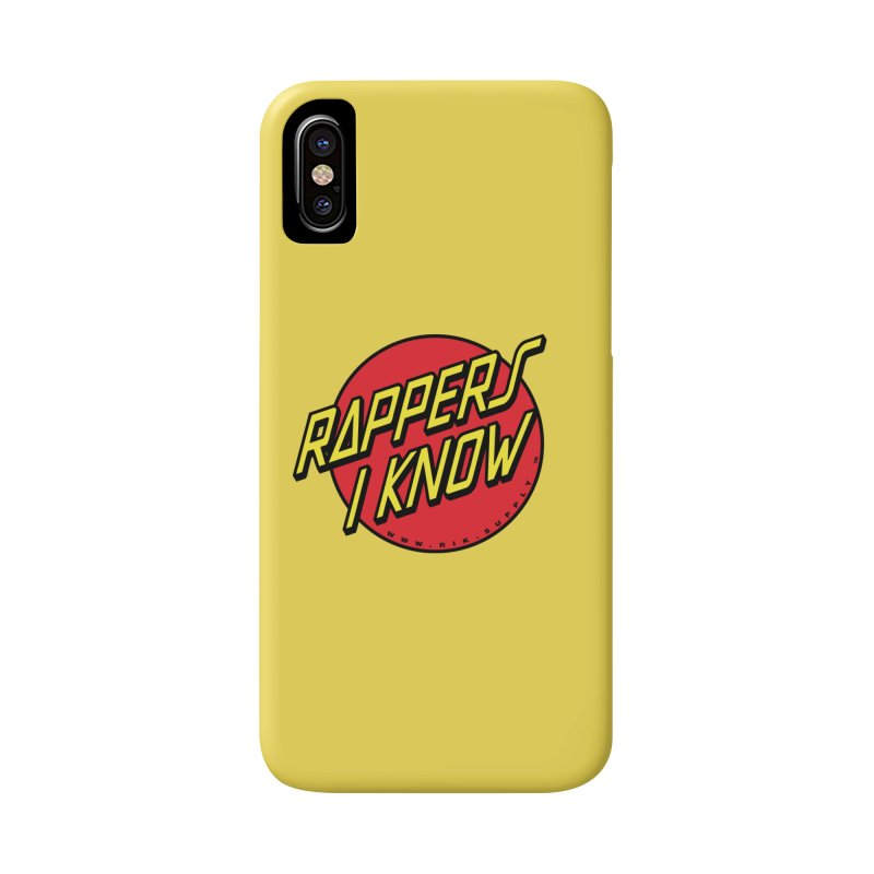 RIK Wavy Accessories Phone Case by RIK.Supply