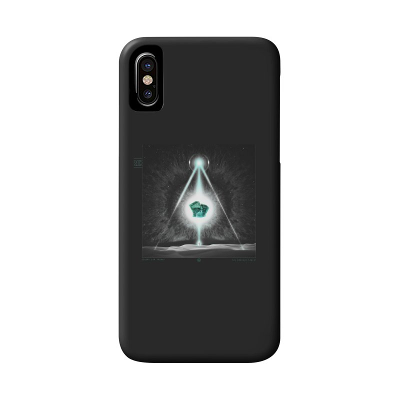 The Emerald Tablet Accessories Phone Case by RIK.Supply