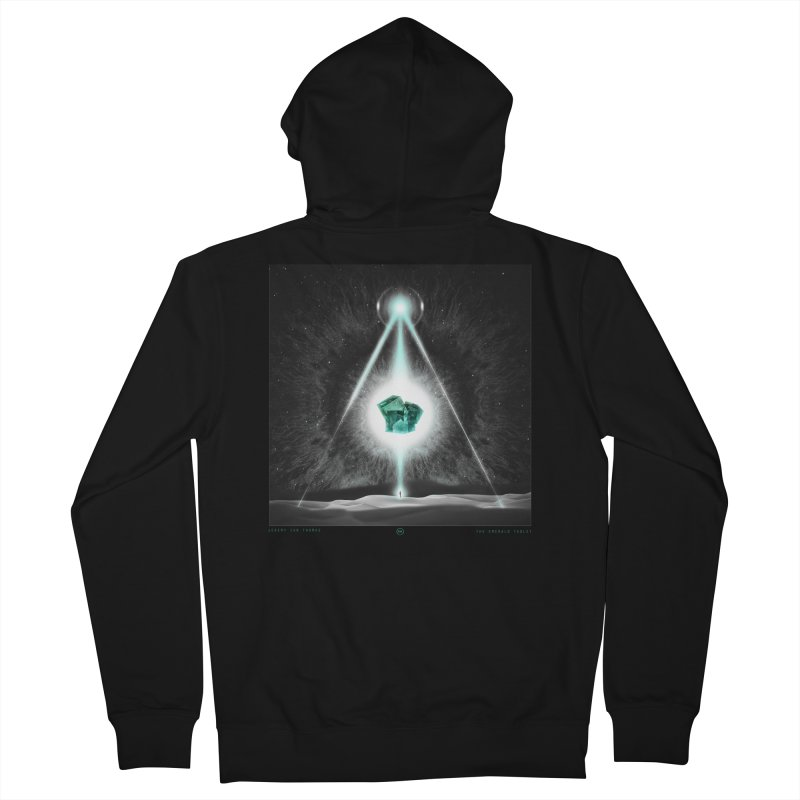 The Emerald Tablet Women's Zip-Up Hoody by RIK.Supply