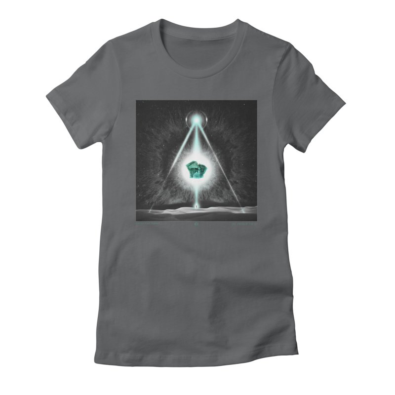 The Emerald Tablet Women's Fitted T-Shirt by RIK.Supply