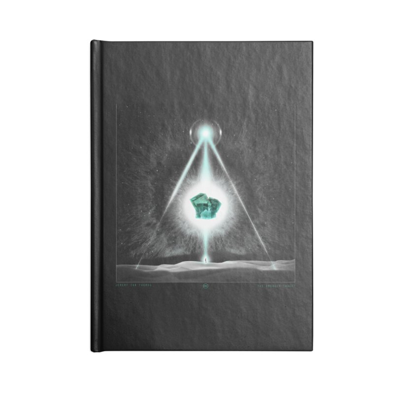 The Emerald Tablet Accessories Notebook by RIK.Supply
