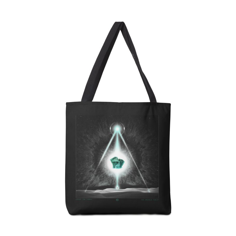 The Emerald Tablet Accessories Bag by RIK.Supply