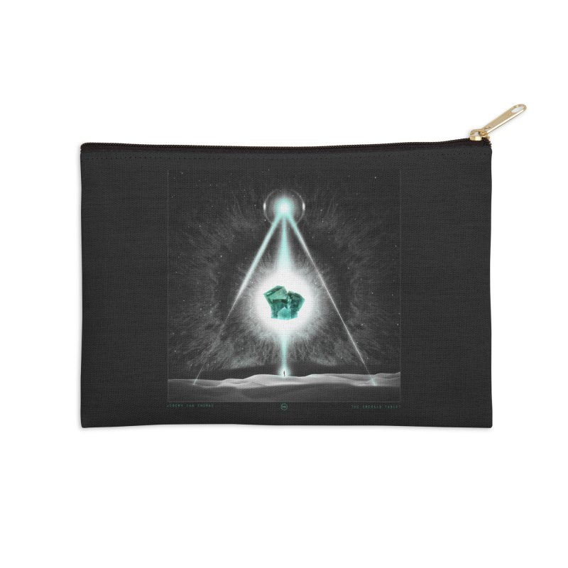 The Emerald Tablet Accessories Zip Pouch by RIK.Supply