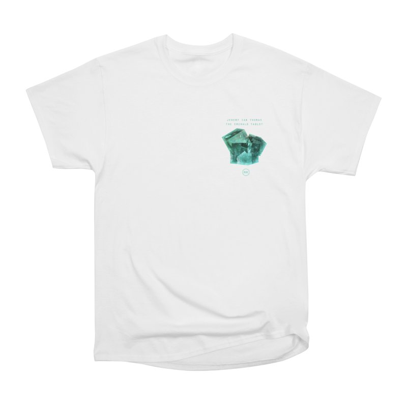 The Emerald Tablet (Rubix) Men's Heavyweight T-Shirt by RIK.Supply
