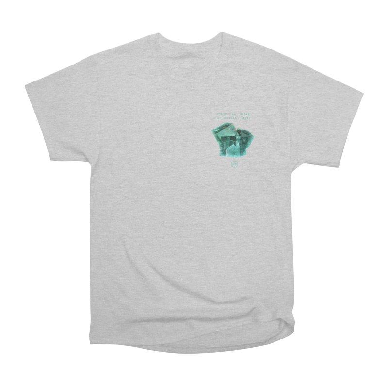 The Emerald Tablet (Rubix) Men's Classic T-Shirt by RIK.Supply
