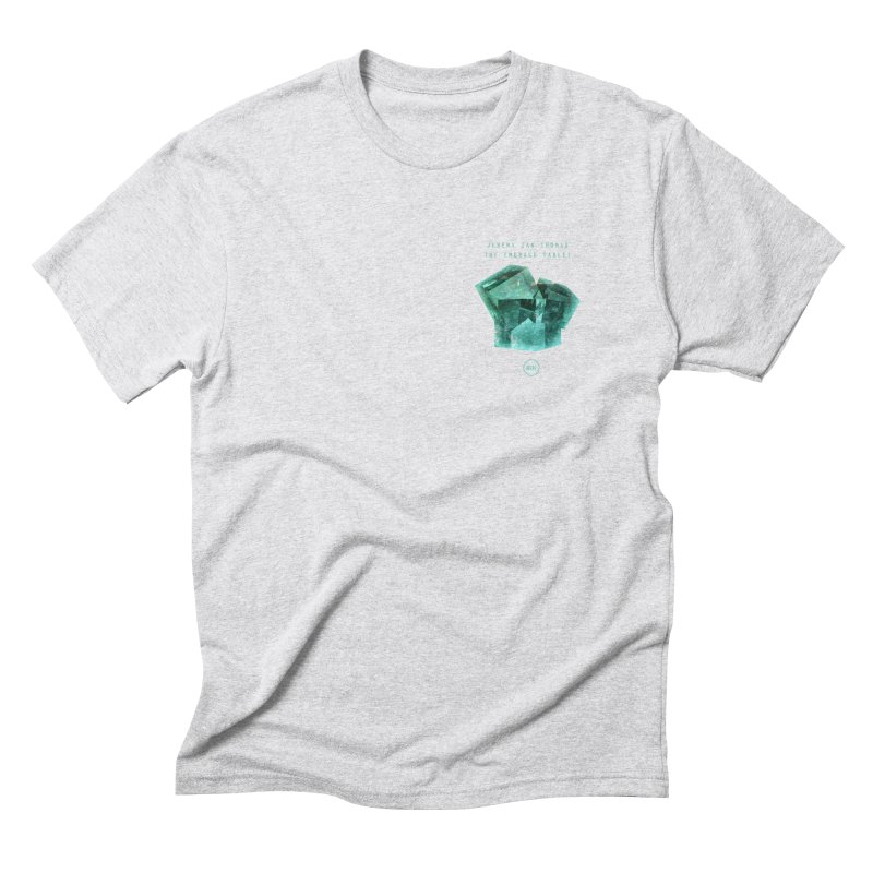 The Emerald Tablet (Rubix) Men's Triblend T-Shirt by RIK.Supply