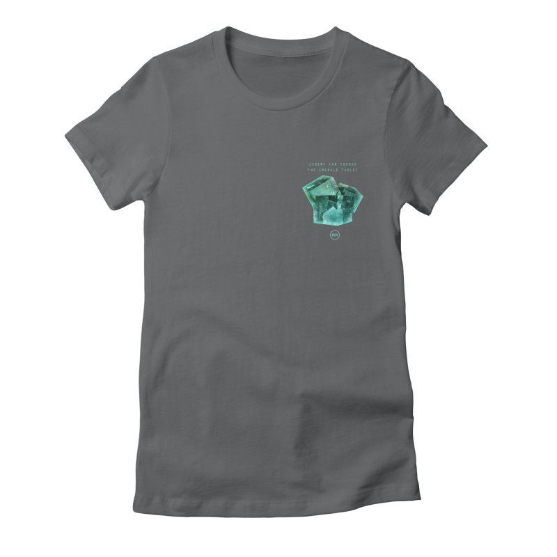The Emerald Tablet (Rubix) Women's Fitted T-Shirt by RIK.Supply
